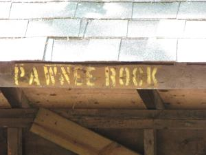 Pawnee Rock Lean To Site